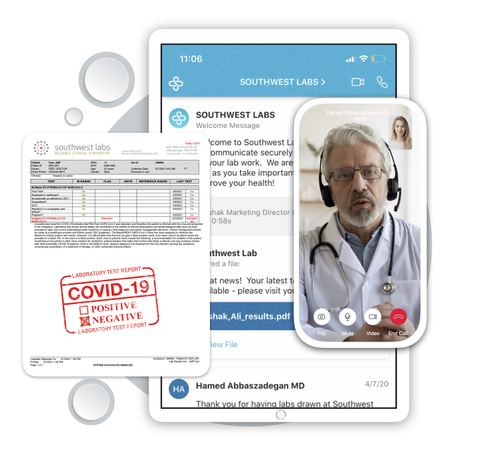 Southwest labs virtual doctor interperation